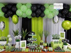 best ideas for birthday party boys Army's Birthday, 13th Birthday Parties, Birthday Games, Birthday Party Decorations, Birthday Celebration, Xbox Party, Game Truck Party, Ben 10 Party, Video Game Party