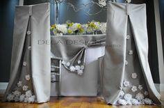 Spring 2015 collection Silver Silk Dupioni by DelaDesignStudio