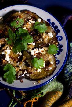 Spiced Up Grilled Eggplant Salad