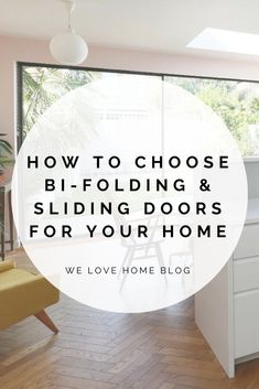 Bifold and sliding doors: 9 gorgeous design ideas We Love Home Blog Interior Design Advice, Interior Stylist, Sliding Door Design, Sliding Doors, Wooden Panelling, Internal Design, Build Your Own House, Classic Living Room, Minimal Home