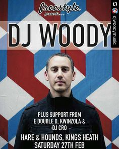 #Repost @djwoodymusic with @repostapp  Playing Birmingham tonight at @hareandhoundsbrum I'll be DJing doing my AV show and also a scratch showcase that attempts to demonstrate the turntables true validity as a musical instrument  #djwoody #hareandhounds #birmingham #dj #djing #realdjing #hiphopculture #hiphop #funk #soul #disco #breaks #scratching #av #audiovisual #video #turntable #turntablism #turntablist by djcrobirmingham http://ift.tt/1HNGVsC