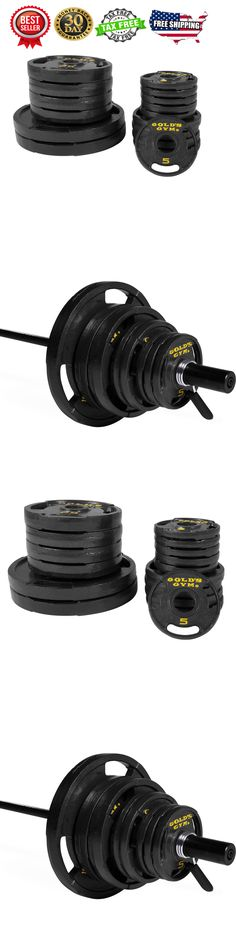 Weight Plates 179817: 300 Lbs Weight Set Olympic Grip Plates 7 Ft Steel Bar Cast Iron Lifting Exercise -> BUY IT NOW ONLY: $224.5 on eBay!