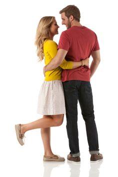 Imagen libre de derechos: Romantic couple embracing each other