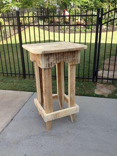 The Redneck Designers original pub table  $375.00