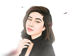 Check Out New Work On My Behance Portfolio Potrait Vector Illustration Awkarin