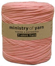Antique Pink T-shirt Yarn