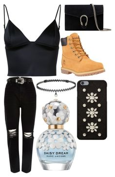 """."" by laura-lorena-forever ❤ liked on Polyvore featuring T By Alexander Wang, River Island, Timberland, Gucci, MICHAEL Michael Kors, BERRICLE and Marc Jacobs"