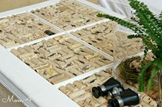 Update your coffee table. | 37 Insanely Creative Things To Do With Popped Corks