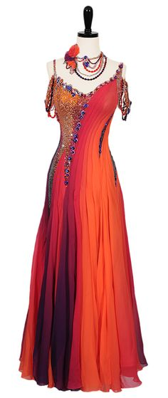 Work Of Art | Smooth & Standard Dresses | Encore Ballroom Couture