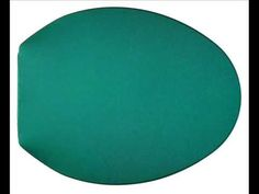 Spruce Green Toilet Lid Cover Round Bowl Soft Top Non Slip Washable Plush Nylon