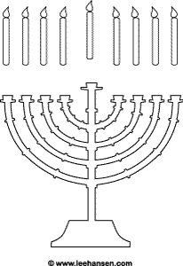 Hanukkah Coloring Pages: Menorahs | Pinterest | Menorah, Hanukkah ...