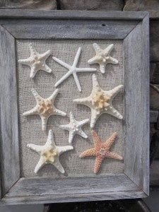 Perfect for our beach themed guest bathroom...