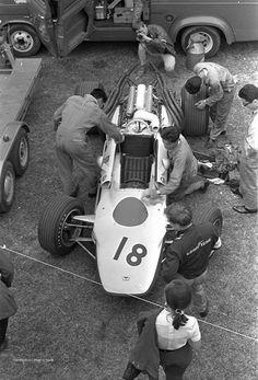Honda RA302, 1968