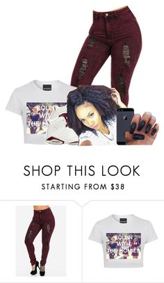 """""""Maroon"""" by jordanv ❤ liked on Polyvore featuring NIKE"""