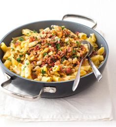 Italian Recipes, Italian Foods, Penne, Fried Rice, Pasta Recipes, Macaroni And Cheese, Food And Drink, Yummy Food, Ethnic Recipes
