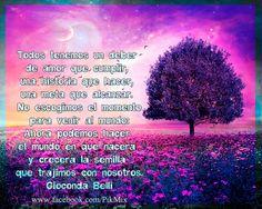 Deber de amor ●  Frases de motivación ● Paisaje de fantasía