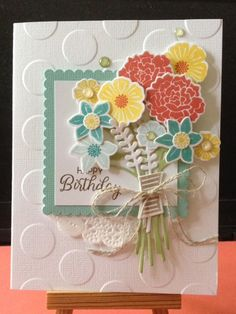 Beautiful Bouquet card - Scrapbook.com