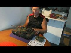 Hobby Engine 1/20 scale M1A1 Abrams Tank Review