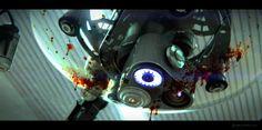 surgical robot, horror, blood, mech, tech, robotics, sketchup, keyshot, render, 3D, concept art, film, movie