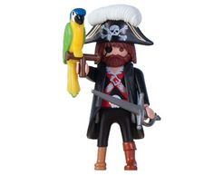 Playmobil Set: LADLH-36 - Pirate Captain - Klickypedia Playmobil Sets, Donald Duck, Disney Characters, Fictional Characters, Toys, Kindergarten, Pirates, Round Round, Activity Toys