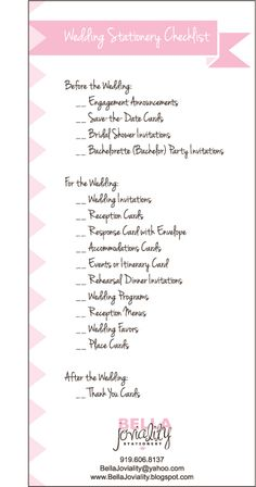Do it yourself buffet wedding reception checklist heres everything wedding organization planning a guide for the unorganized bride solutioingenieria Choice Image