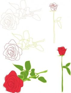 FREE VALENTINES VECTORS ? ROSES