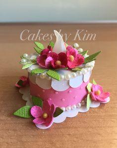 """""""Spring Blossoms"""" Tea Light Cake (made by Kim)"""