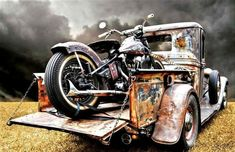choppers and stuff : Photo #harleydavidsonknucklehead