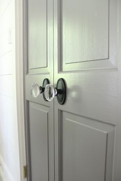 Close Up Of The Georgetown Crystal Knob As Featured In House Beautifuls Kitchen Year