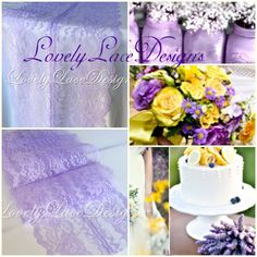 Hey, I found this really awesome Etsy listing at https://www.etsy.com/listing/187700961/lavender-weddings-lavender-lace-table