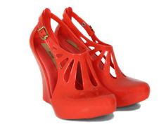 red jelly wedges ,