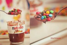 Imagem de nutella, chocolate, and food
