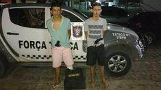 Policiais Militares da Força Tática do 3°BPM prenderam na noite desta quarta-feira (24) uma dupla de assaltantes, no bairro Vale do Sol em Parnamirim.