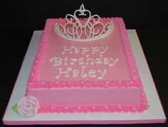 Princess Birthday Cake by cjmjcrlm (Rebecca), via Flickr