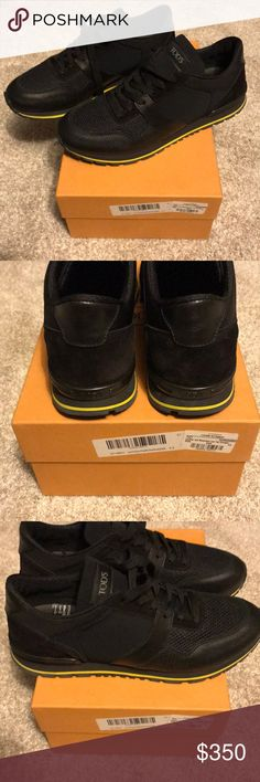 Tods size 9.5uk 10.5 US Brand new never worn tods sneakers with neoprene Tod's Shoes Sneakers