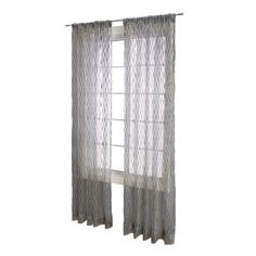 sheer curtain as second layer
