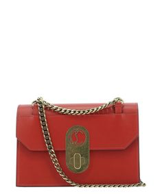 Christian Louboutin Elisa Small Shoulder Bag In Red Small Shoulder Bag, World Of Fashion, Luxury Branding, Christian Louboutin, Shoes Style, Stylish, Heels, Diy Design, Red