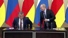 Putin & Bibilov Statements Following Russia-South Ossetia Talks