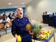 """The energy is infectious! Juggling fresh gelato ingredients at Carpigiani Gelato University"" by Lohr Gelato Ingredients, Nutella, Chef Jackets, University, Italy, Fresh, Twitter, Travel, Food"