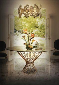 Des tables à manger en verre. http://magasinsdeco.fr/des-tables-manger-verre/