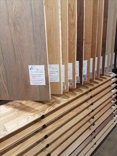 Wood Glorious #wood!  Beautiful #solid and #engineered #flooring on display in…