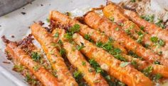 These Parmesan Roasted Carrots will change the way you look at boring vegetable side dishes. This ca ...