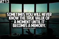 Moment becomes memory