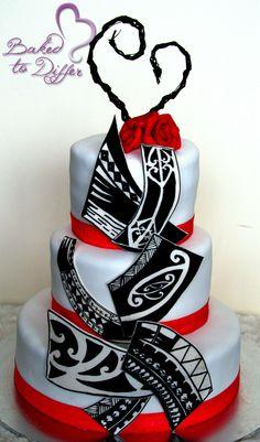 Maori & Samoan Wedding Cake
