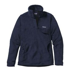 $119.00 Patagonia Women's Re-Tool Snap-T Fleece Pullover in Navy Blue X-Dye (NVYX)  (Size: Small)