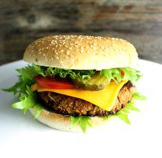 Oppskrift Hjemmelaget Veganburger Vegetarburger McDonalds Vegan Kjøttfri Kikertburger Grønnsaksburger