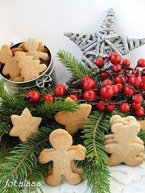 Ala piecze i gotuje: Pierniczki od razu miękkie Gingerbread Cookies, Christmas Cookies, Food And Drink, Favorite Recipes, Sweets, Fruit, Vegetables, Cooking, Crafts