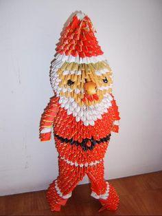 3D Origami - Santa Claus Origami