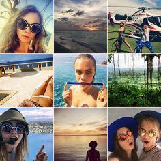 Pin for Later: Euer Sommer wird nie enden mit diesen Urlaubsfotos der Stars Cara Delevingne