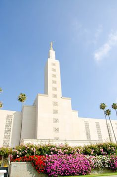 Los Angeles LDS Temple -- literally one of my favorite places in the world.